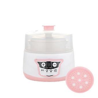 طباخ كهربائي صغير ووعاء الطفل الصحي وعاء حساء البيض البخار مع التحفظ