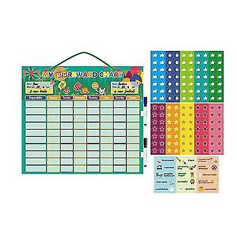 Magnetic Reward Self-discipline Hanging Board Behavior Habit Reward Record Sheet
