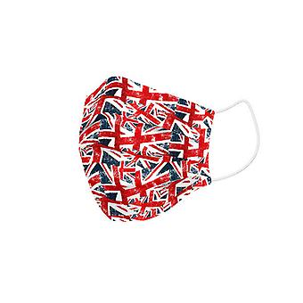 Hygienic Reusable Fabric Mask UK Flags Children's