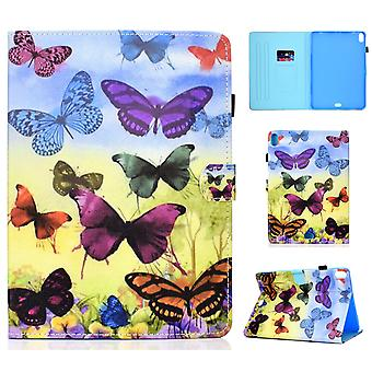 Case For Ipad Pro 11 2018 Cover With Auto Sleep/wake Pattern Magnetic - Colorful Butterfly