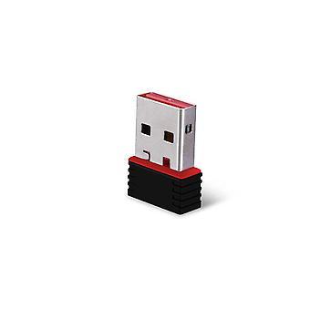 2 pc's draadloze adapter 150 Mbps USB WiFi-adapter voor pc-netwerk