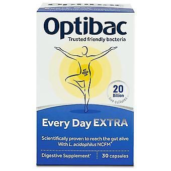 Optibac For Everyday Extra Strength Capsules 30