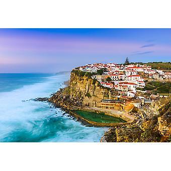 Tapetmaleri Azenhas Do Mar i Portugal