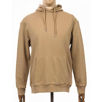 Colorful Standard Organic Cotton Hooded Sweat - Desert Khaki
