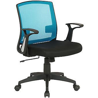 Toimistotuoli - Työpöytätuoli - Kotitoimisto - Moderni - Musta - Muovi - 62 cm x 52 cm x 87 cm