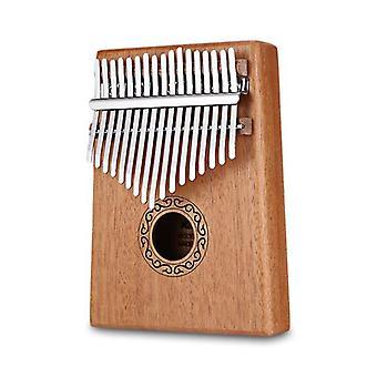 世界の木造サムピアノ楽器でパーカッションカリンバ17キー