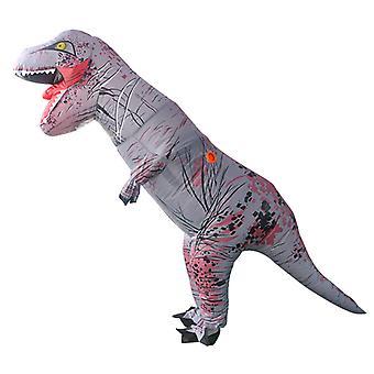 Szürke Tyrannosaurus Rex (felnőtt változat) Halloween Cosplay Tyrannosaurus Rex felfújható jelmez dinoszaurusz jelmez