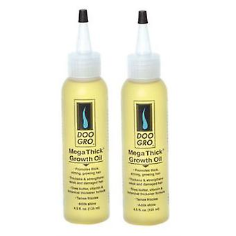 Doo Gro Mega Thick Growth Oil, (2 Pack)