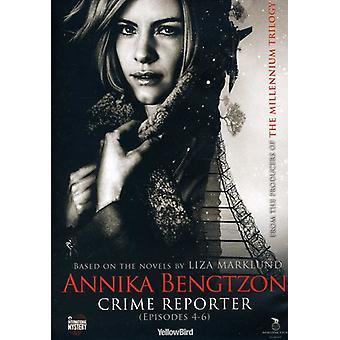 Annika Bengtzon: Crime Reporter: Eps 4-6 [DVD] USA import