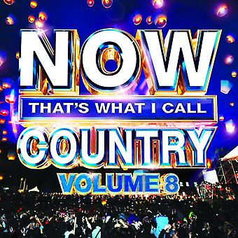 Various Artist - Now That's What I Call Country 8 [CD] USA import