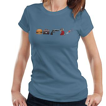 Emoji Pulp Fiction Women's T-Shirt