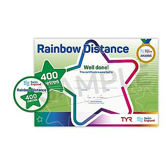 ASA Swim England Rainbow Distance Swimming Award - 400M