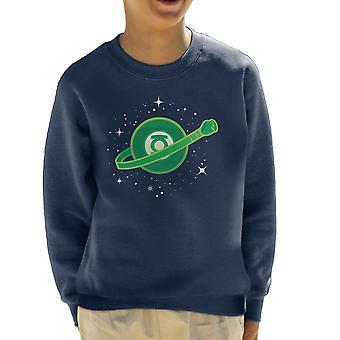 Building With Imagination Green Lantern Lego Kid's Sweatshirt
