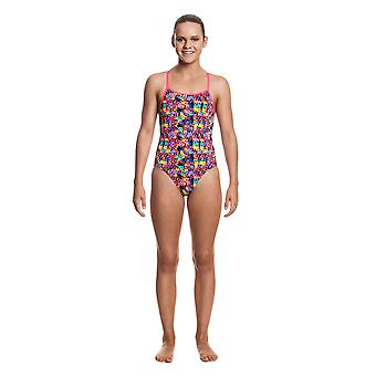 Funkita Filles Diamond Back One Piece Swim Suit - Billes