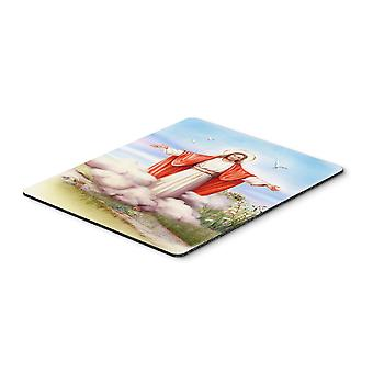 Easter Jesus is Risen Mouse Pad, Hot Pad or Trivet