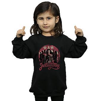 DC Comics Girls Justice League Movie Group Pose Sweatshirt