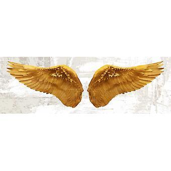 Angel Wings Poster Print by Joannoo