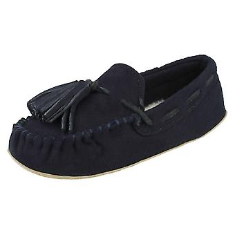 Ladies Clarks Moccassin Style Slippers Cozily Comfy