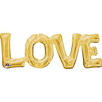 Anagram Love Supershape Air Filled Balloon