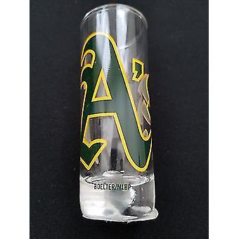 "Oakland Athletics MLB ""Hype"" Tall Shot Glass"
