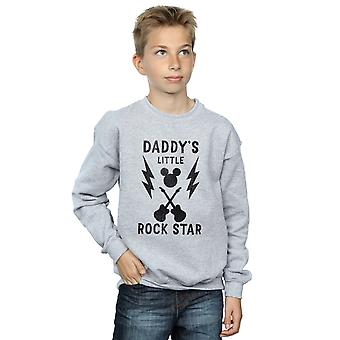 Disney Boys Mickey Mouse Daddy's Rock Star Sweatshirt