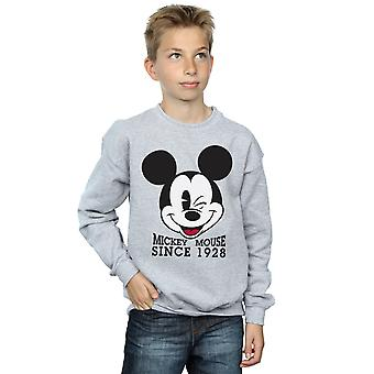Disney Boys Mickey Mouse Since 1928 Sweatshirt