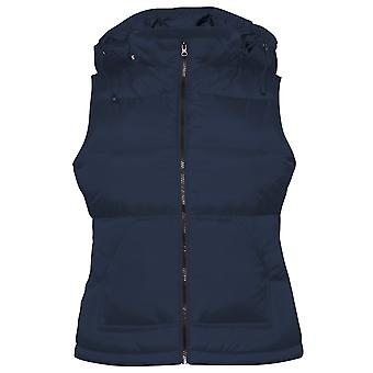 B&C Womens/Ladies Zen+ Hooded Waterproof Bodywarmer/Gilet