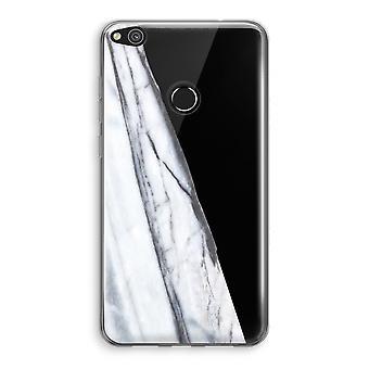 Huawei Ascend P8 Lite (2017) Transparant fall (Soft) - randig marmor