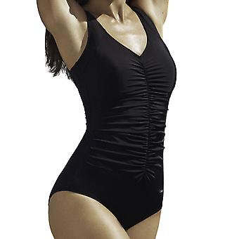 Susa 4193-4 Women's Black Costume One Piece Swimsuit