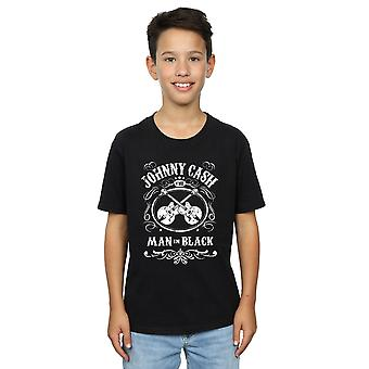 T-shirt di Johnny Cash ragazzi Jack Daniel