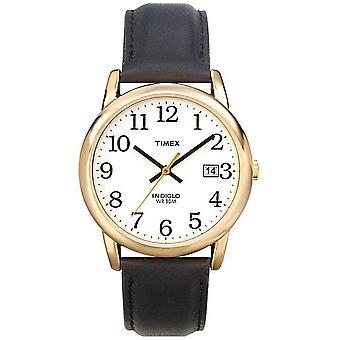 Timex Herren weiß schwarz Easy Reader T2H291 Uhr
