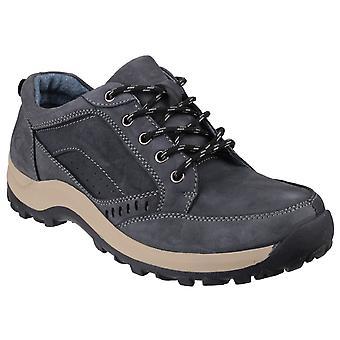 Cotswold Mens Nailsworth Lace Up Shoe Navy