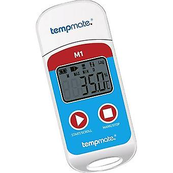 tempmate M1 Temperature data logger Unit of measurement Temperature -30 up to +70 °C PDF generator