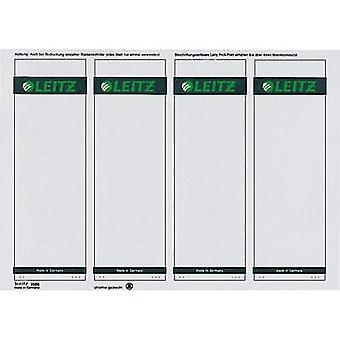 Leitz Lever arch file labels 1685-00-85 61 x 191 mm Paper Grey Permanent 400 pc(s)