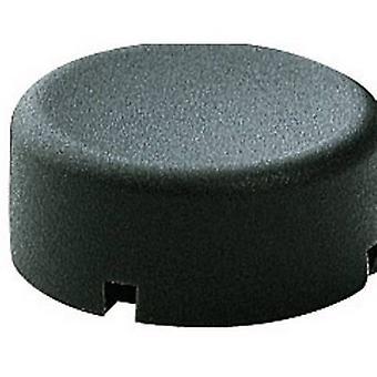 Marquardt 840.000.011 Sensor Cap Button cap round Anthracite Compatible with (details) Series 6425 without LED