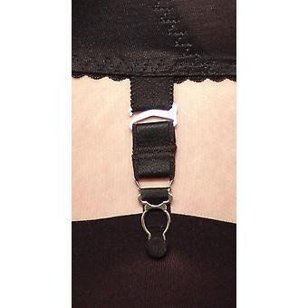 Berdita Dessous 4 Pack von festen Hosenträger / Haken für Strümpfe Strumpfband