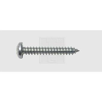 SWG Sheet metal screw 3.9 mm 16 mm Phillips DIN 7981 Steel zinc plated 100 pc(s)