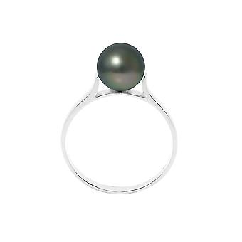 Ring Jonc Pearl of Tahiti 8 mm and Silver 925/1000 7895