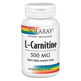 Solaray Free Form L-Carnitine - 500mg, 30 Capsules