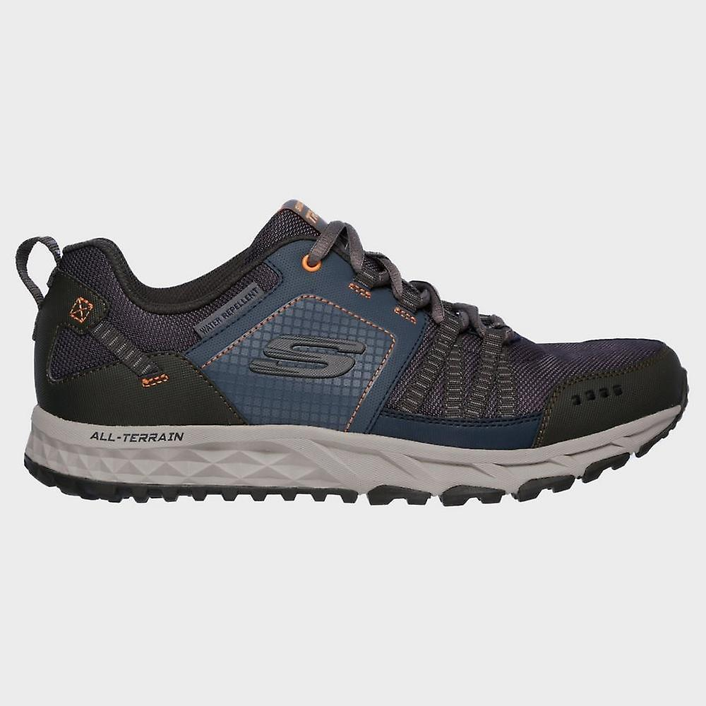 New Skechers Men's Escape Plan Walking Trainers Trail Shoes Navy