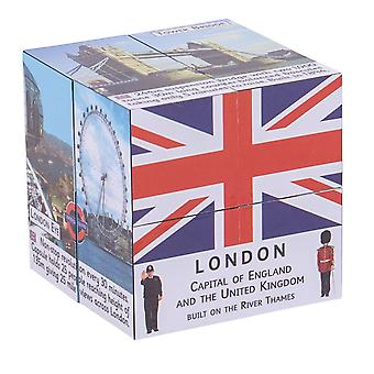 ZooBooKoo Educational London Facts and Attractions Cubebook Learn Play