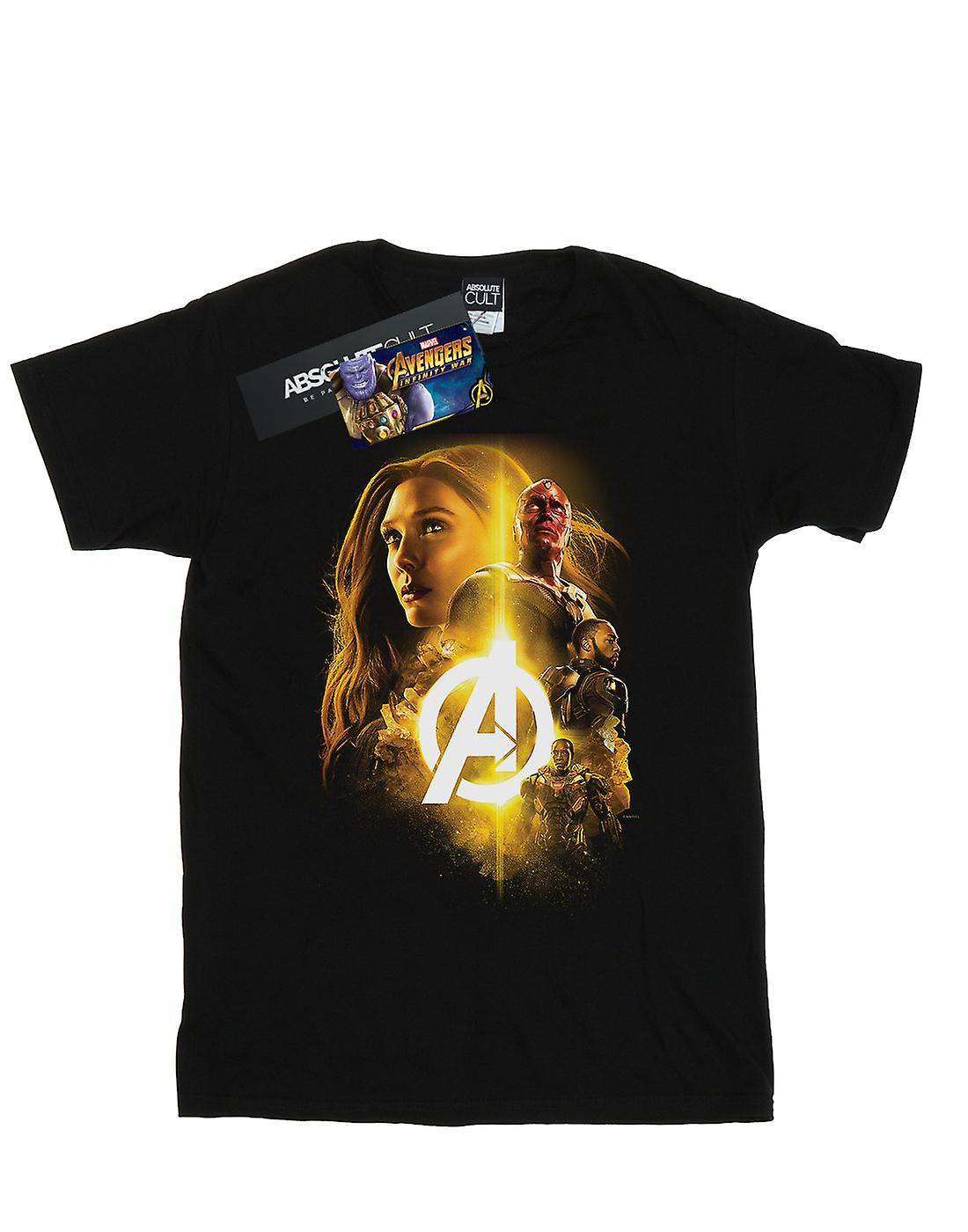 Marvel Women's Avengers Infinity War Vision Witch Team Up Boyfriend Fit T-Shirt