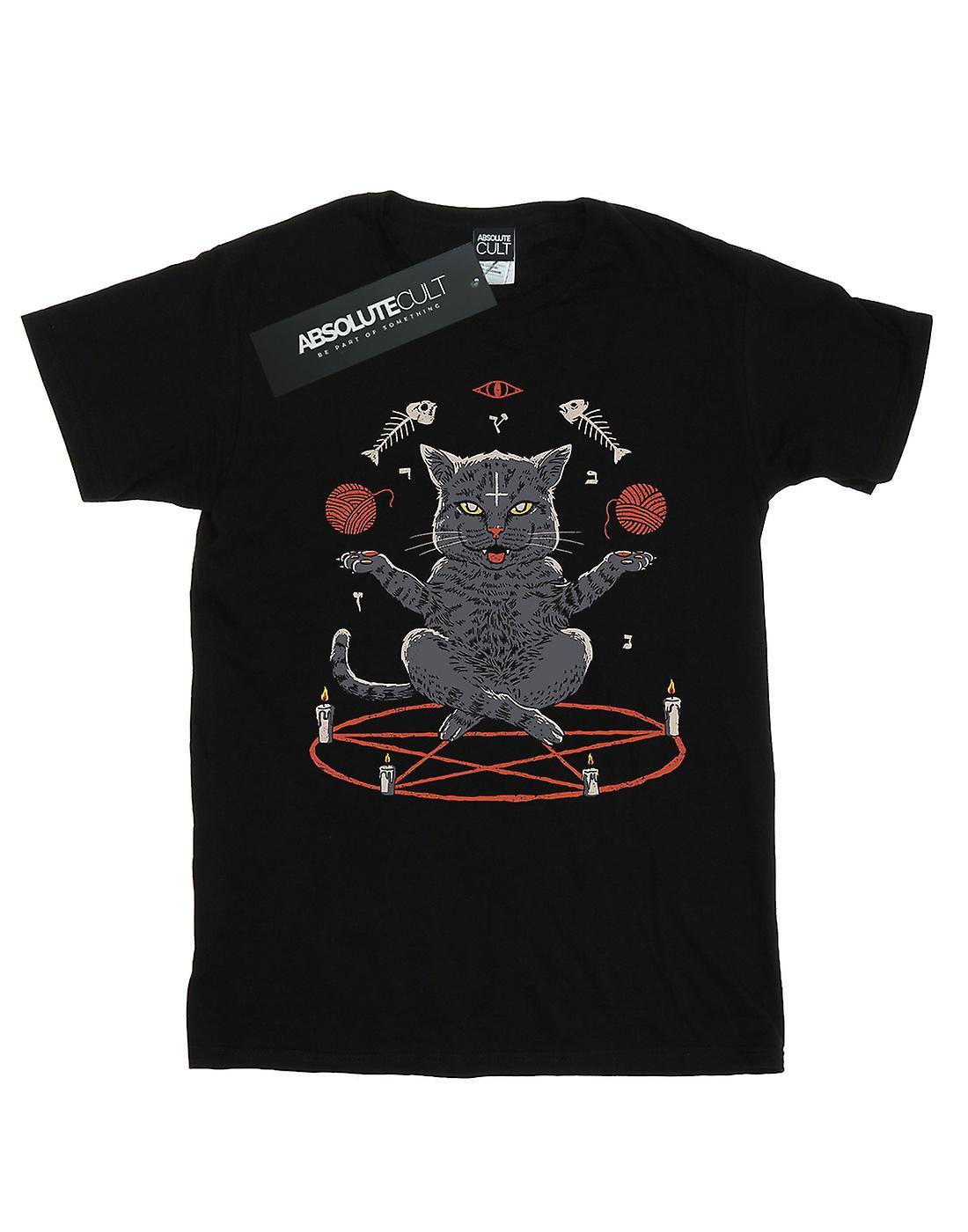 Vincent Trinidad Women's Devious Cat Boyfriend Fit T-Shirt