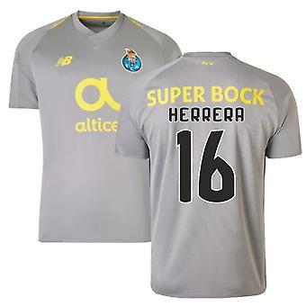 2018-19 Porto borte fotball skjorte (Herrera 16)