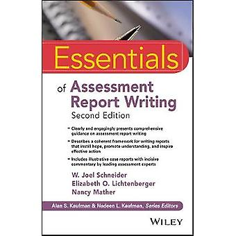 Essentials of Assessment Report Writing by Essentials of Assessment R
