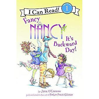 Fancy Nancy: Det är bakåt dag! (Jag kan läsa Fancy Nancy - nivå 1 (Inbunden))