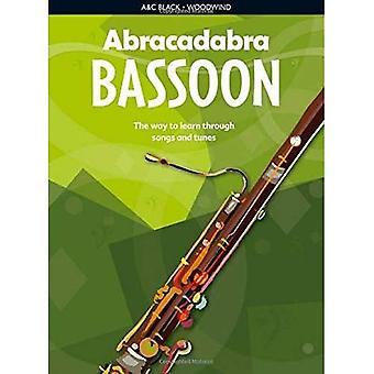 Fagot abrakadabra: Sposób na naukę poprzez pieśni i melodie: książka ucznia (Abrakadabra)