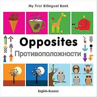 Min första tvåspråkiga bok - motsatser: Svenska-Ryska