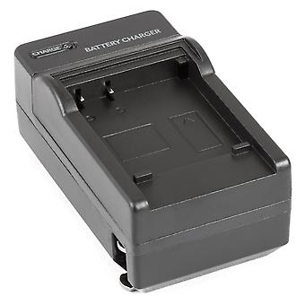 AC/DC Battery Charger for Panasonic DMW-BCF10E Lumix DMC-FH20 DMC-FS10 DMC-FT2 DMC-TS2 DMC-FS30