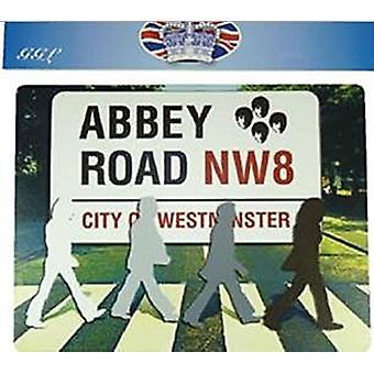 Podkładka pod mysz sylwetki Beatles Abbey Road 220 mm x 180 mm (gg)
